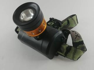 Фонарь портативный кемпинговый, налобный, LED, уличный