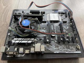 Asus prime H270 plus сокет 1151 + Cpu G3900 2.8 ghz+Cooler.