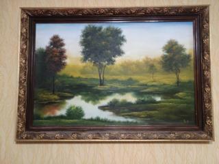 Продается картина ширина 65см*95см в хорошем состоянии.