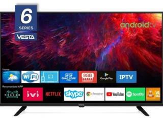 """VESTA LD32E6202 / 32"""" HD 1366x768 Smart TV AndroidTV 9.0 /"""