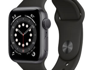Apple Watch Series 6 GPS 40mm Space Gray Aluminum Case with Black Spor