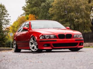 """М"" бампер на BMW E39"