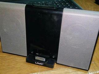 Активная стереоколонка для iPod и iPhone и любого плеера, смартфона.