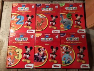 Clubul lui Mickey Mouse 33 книги+ диски в подарок