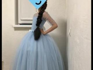 Шикарное платье для девочки и туфельки