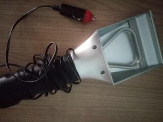 Совок электро от прикуривателя для чистки стекла автомобиля