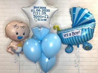 Decor cu baloane cu heliu Balti