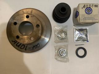 Тормозной диск на AUDI 100; A-6`и к-т подшипников на заднюю ступицу