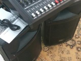 Комплект звукового оборудования (новое) (с гарантией)