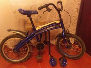 Продам детский велосипед б/у на ребёнка 4-8 лет.