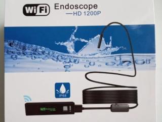 Беспроводной WiFi Эндоскоп FullHD