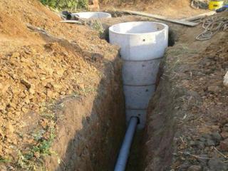 Канализации септик водопровод под ключ копаем вручную и техникой есть бето