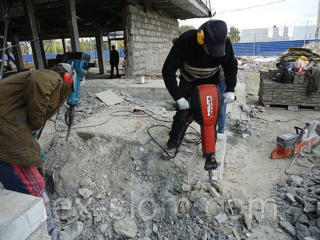Алмазная резка бетона бетоновырубка выезд в районы прокат перфораторы отбой