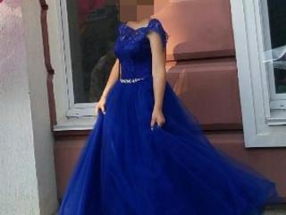 Шикарное выпускное платье