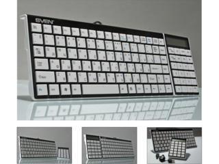 Клавиатура SVEN SLIM 3100, компактная инновационная с калькулятором.