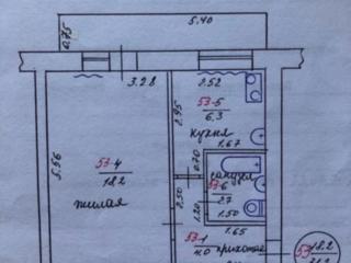 Продам однокомнатную квартиру от собственника.
