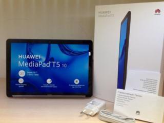 Huawei T5 10, 3/32, с чехлом, новый