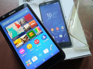 Sony Xperia E4 + силиконовый чехол