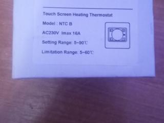 Продается НОВЫЙ сенсорный термостат