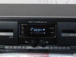 Philips FC731 – 2-х кассетная дека и Philips FA741 стереоусилитель