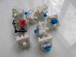 Кнопки для механической клавиатуры (свитчи)