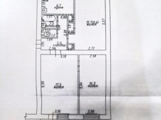3-комнатная, ул. Пионерская, 3 этаж