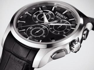 Tissot Couturier Chronograph Швейцария! Гарантия 2 года!