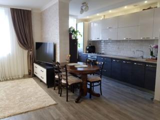 Apartament cu 2 odăi și living, Reparat, Mobilat, Bloc Nou, Durlești!