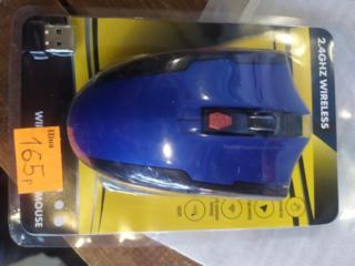 Мышка беспроводная, 165 рублей. Отлично подойдёт для игр и работы. новая