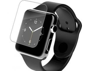 Защитные стекла по УФ гель и защитные пленки на Apple Watch.