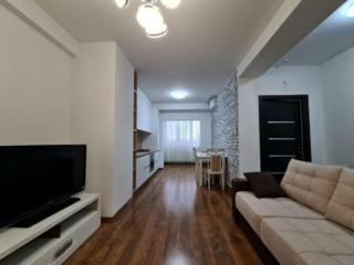 Apartament cu 1 cameră și bucătărie cu living, bloc nou, 45m2