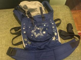"Слинг рюкзак-переноска ""Звездочёт"" + подарок"