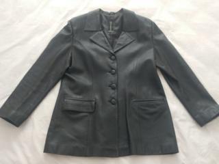 Кожаный пиджак б/у 48 р. - 70 у. е. Балка, р-н газконторы