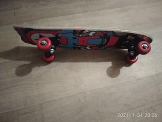 Самокат и скейт продам