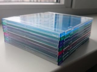 """Коробки """"Slim Box"""" для CD диска, 60 шт. (новые)"""