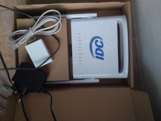 ADSL-МОДЕМ IDC ZNV SR-W2. Новый 100р