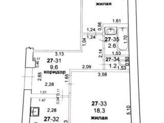 БОРИСОВКА 2-к кв. чешка 4/5 52/29/8 балкон 3 кв. м. стеклопакеты