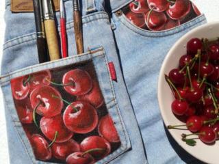 Ручная роспись одежды на заказ