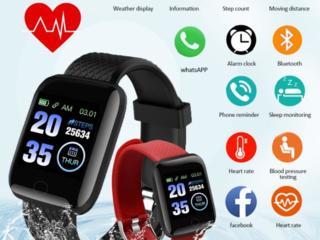 Смарт часы-фитнес браслет. Новые, по супер цене! Сенсор-кнопка.