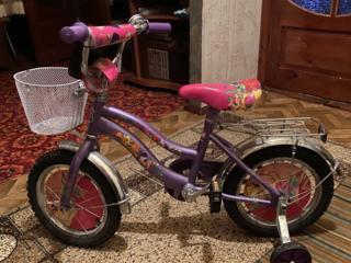 Продаётся велосипед в идеальном состоянии, ребёнок один раз покатался