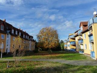 Под Лейпцигом, ФРГ, жилой комплекс полностью сданный в аренду