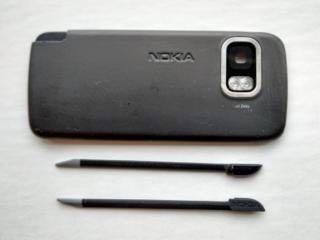 Задня панель + стилус (2 шт. ) від Nokia 5800 (оригінальні)