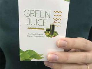 Green Juice - поможет скинуть ненужные килограммы