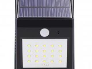 Светильник уличный на солнечной батарее, с датчиком движения