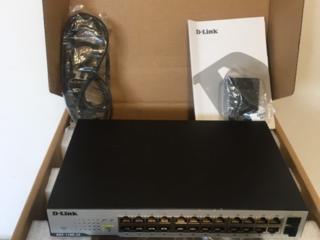 Настраиваемый коммутатор D-Link EasySmart с 26 портами.