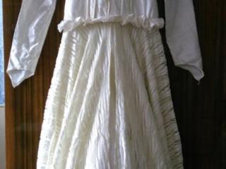 Свадебное платье, молочного цвета, недорого
