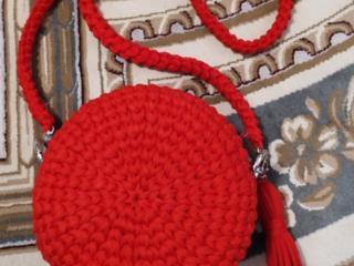 Суперстильные вязанные вещи, ручной работы: сумки -эксклюзив, салфетки
