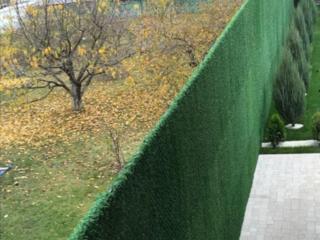 Зеленые заборы. Обшиваем искусственной травой любые плоскости.