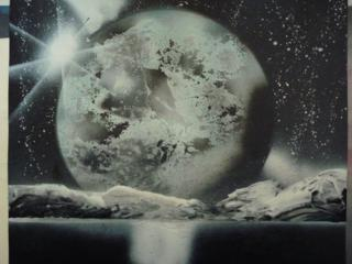 """Картина """"Планета"""""""