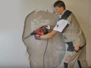 Демонтажные работы перепланировка бетоновырубка резка стен бетона